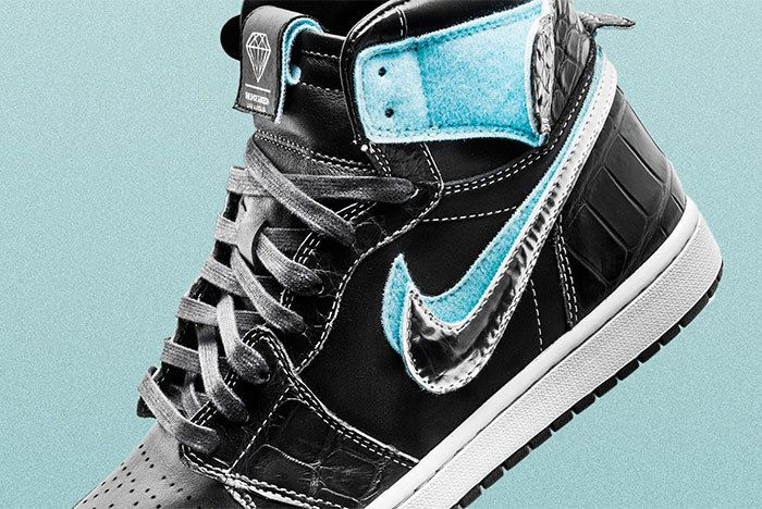 Diamond Air Jordan1 Surgeon Sneaker Freaker1
