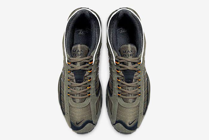 Nike Air Max Tailwind 4 Olive Orange Cj9681 300 Top