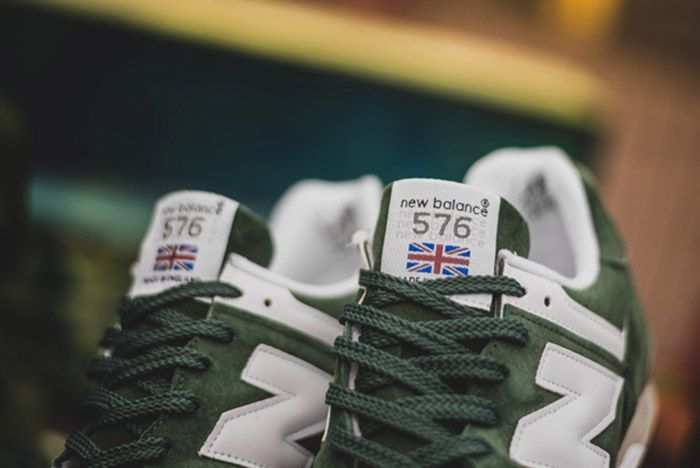 New Balance Made In England 576 Green 5