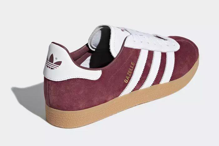 Adidas Gazelle Collegiate Burgandy 3