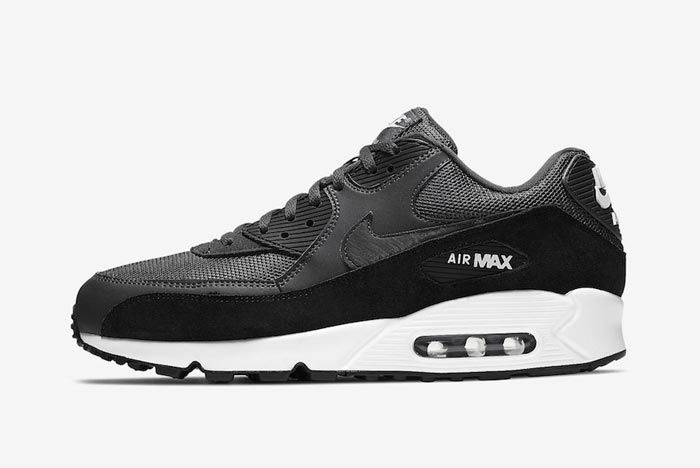 Nike Air Max 90 Anthracite Black Lateral