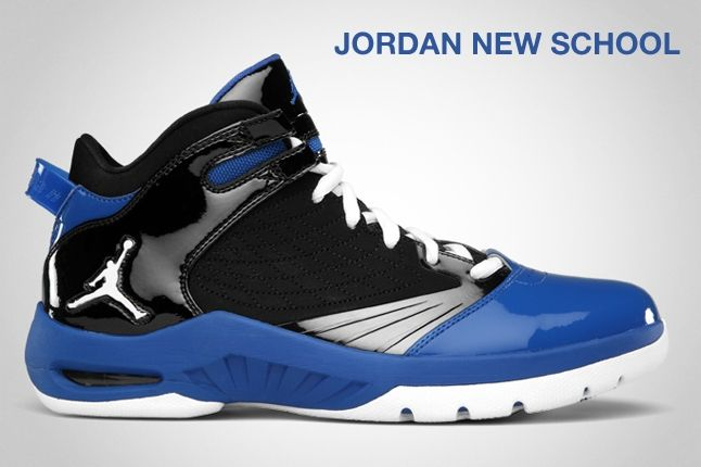 Jordan New School Blue 1