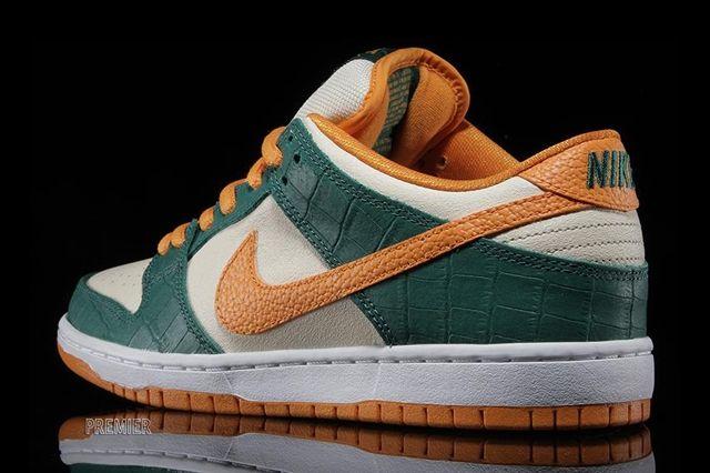 Nike Sb Dunk Low Legion Pine Kumquat 4