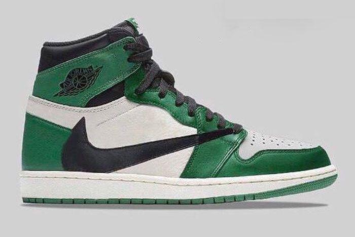 Nike Air Jordan 1 Cacus Jack Green Release