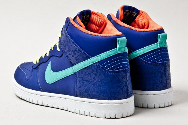 Nike Dunk Hi Navy 3 1
