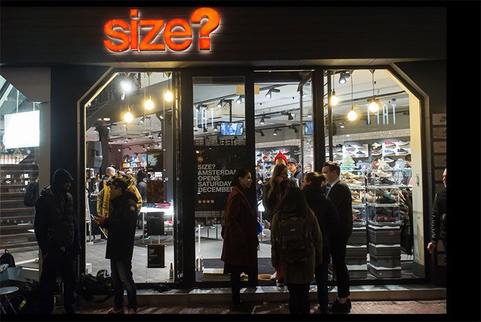 Size Amsterdam