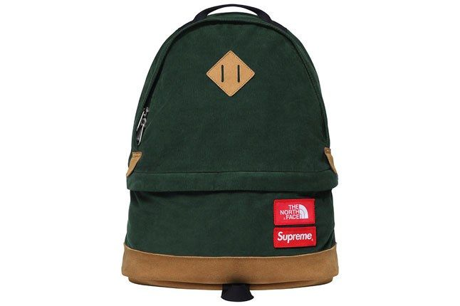 Supreme North Face Backpack Green 1