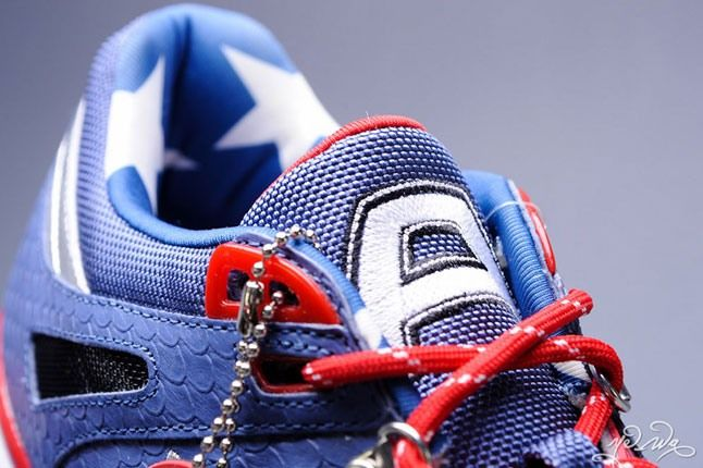 Marvel Captain America Reebok Ventilator 9 1