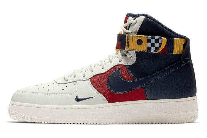 Nike Air Force 1 High Nautical Redux Ar5395 100 Release Date Sneaker Freaker