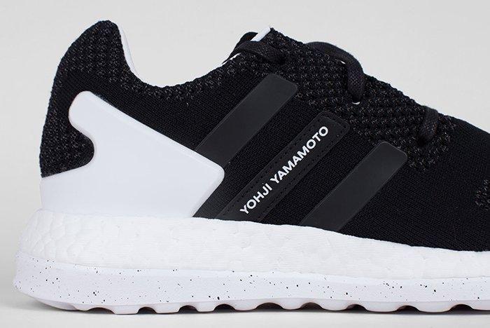 Adidas Y 3 Pure Boost Zg Knit Core Blackwhite