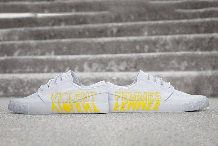 Nike Sb Stefan Janoski Violent Femmes Heel Detail