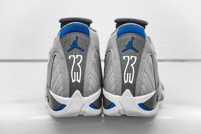 Air Jordan 14 Blue Bumper 5