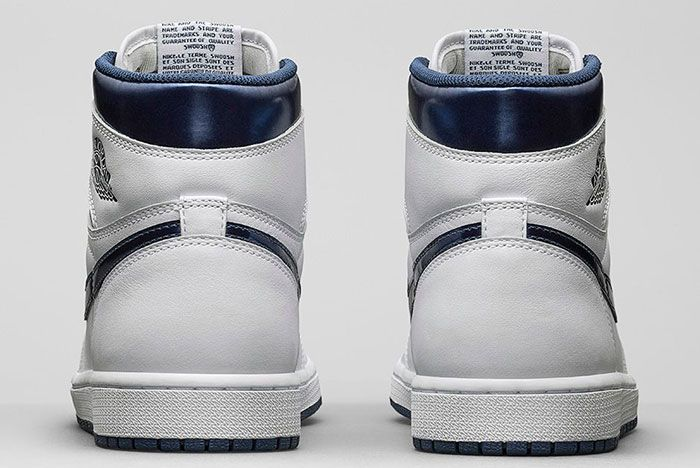 Air Jordan High Retro Metallic Navy 2