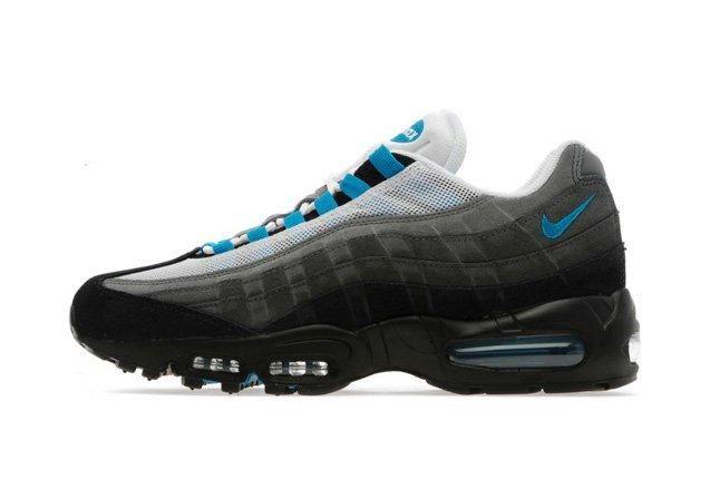 Nike Air Max 95 (Black/Turquoise/White) - Sneaker Freaker