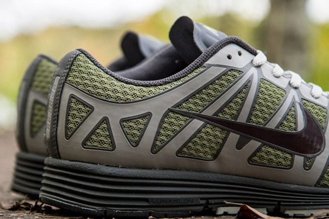 Undercover Nike Lunarspeed Lite Gyakusou Green Burgundy Grey Heels 1
