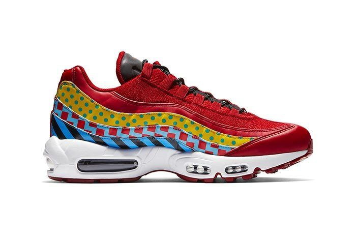 Air Max 95 Carnival Side Shot 1