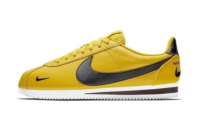 Nike Cortez Premium Bright Citron 1