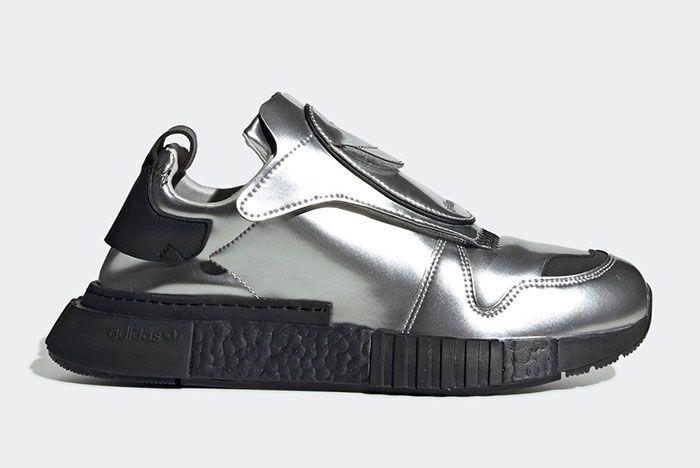 Adidas Futurepacer Silver Metallic Ee5002 Lateral