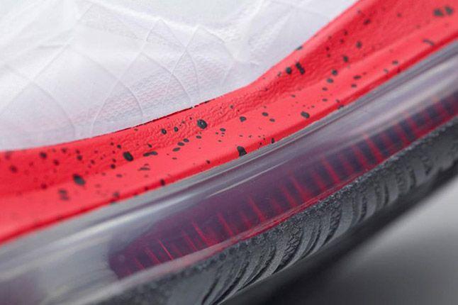 Nike Lebron X Id White Red Zoom Sole 1