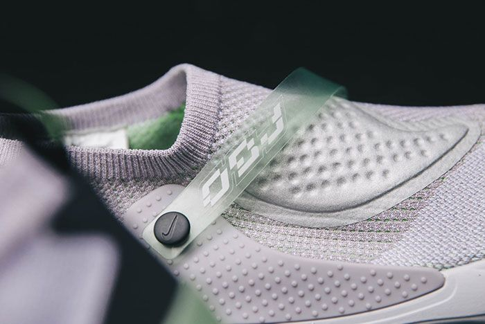 Nike Obj Joyride Flyknit Grey Strap Detail