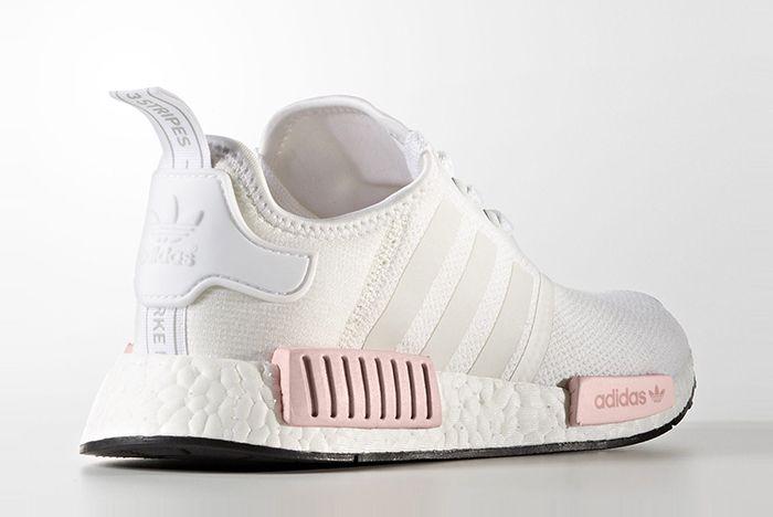 Adidas Nmd R1 Whitepink 2