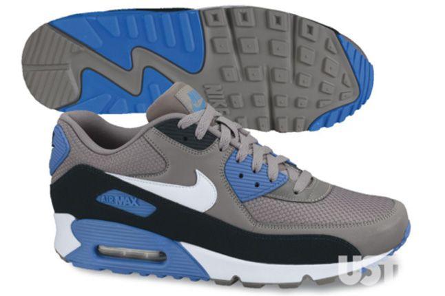 Nike Air Max 90 2013 Essential Blue Grey 1