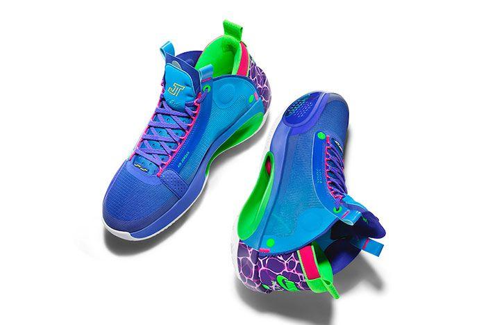 Jayson Tatum Air Jordan 34 Blue O Pe
