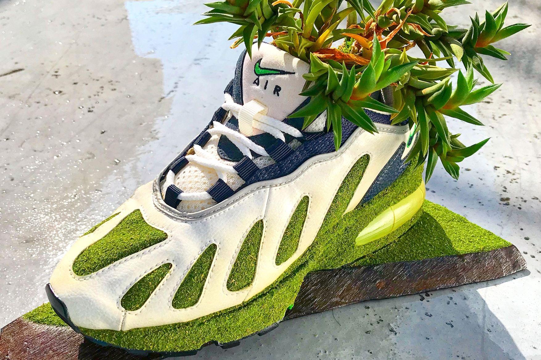 Artist Shoetree Nike Sneakers Sculptural Houseplants 6