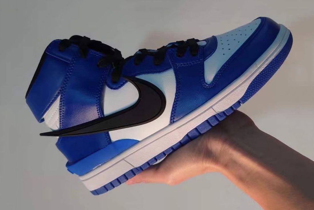 AMBUSH x Nike Dunk High 'Deep Royal'