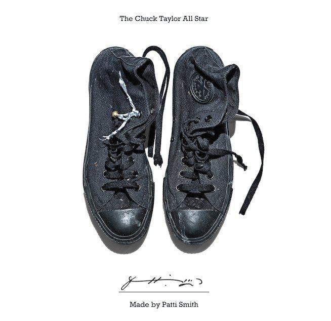 Patti Smith Converse Sneaker Portrait
