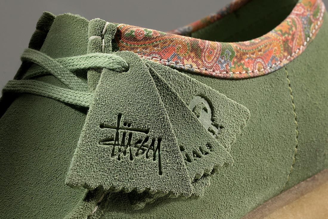 Stussy Clarks Wallabees Tag Detail