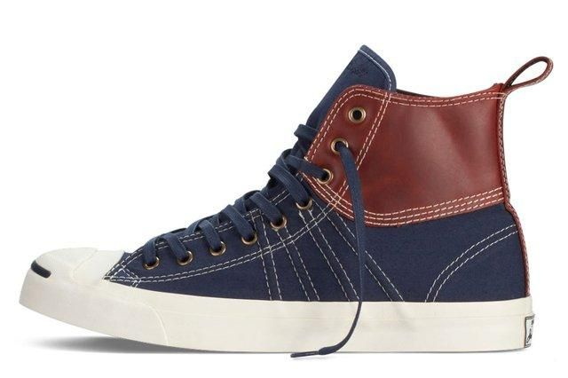 Converse Jack Purcell Duck Boot Navy Profile