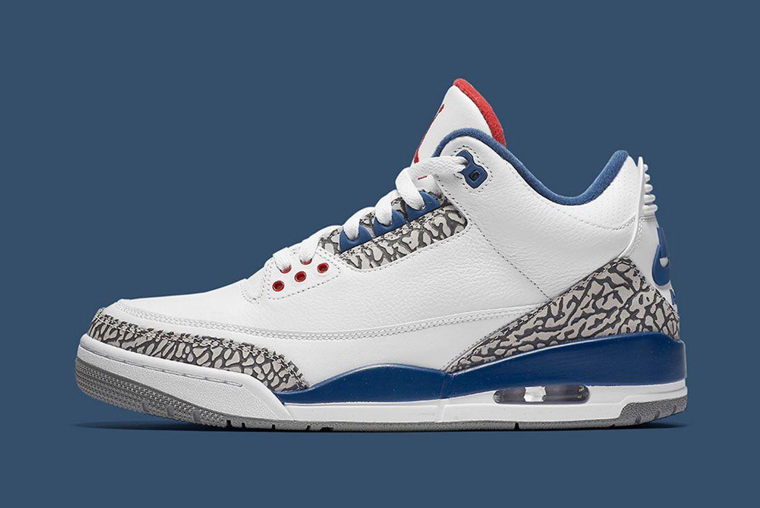 Air Jordan 3 True Blue Retro Official 4