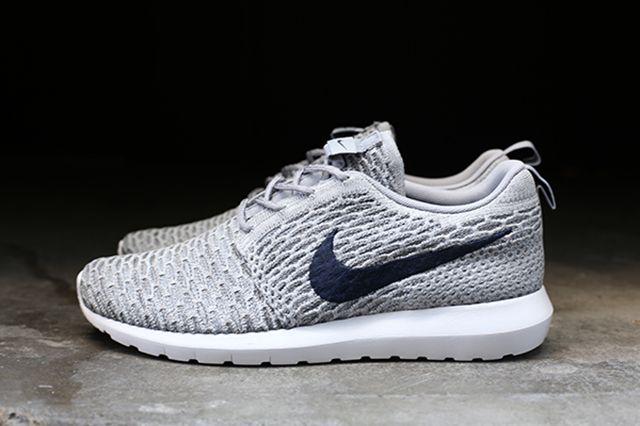 Nike Flyknit Roshe Run Grey 4