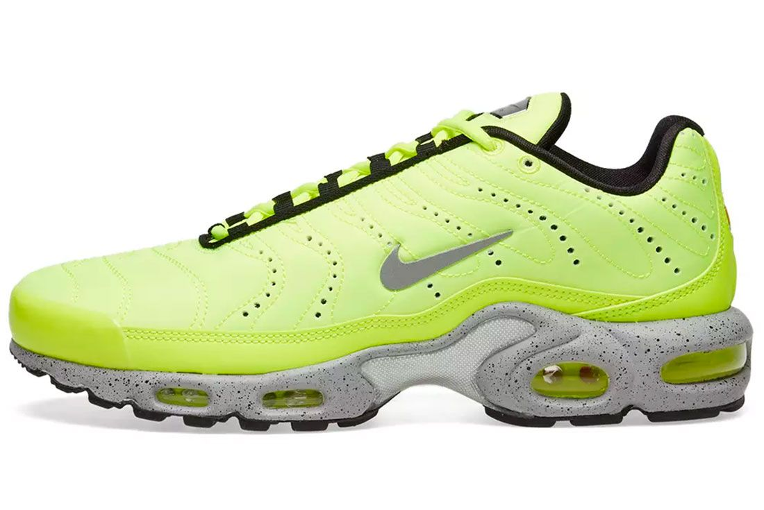 Nike Air Max Plus Volt Side Shot