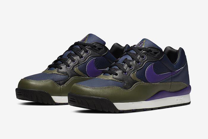 Nike Acg Wildwood Court Purple Midnight Navy Pair