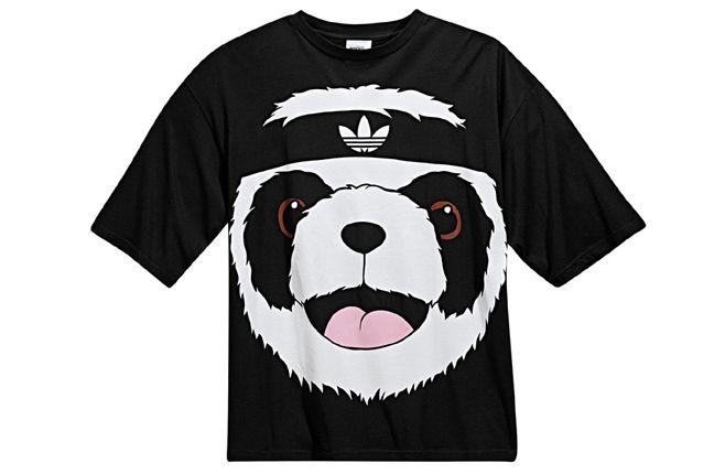 Adidas Jeremy Scott Big Panda T Shirt 3 1