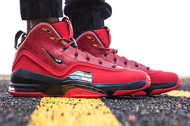 Nike Pippen 6 Red Black 1