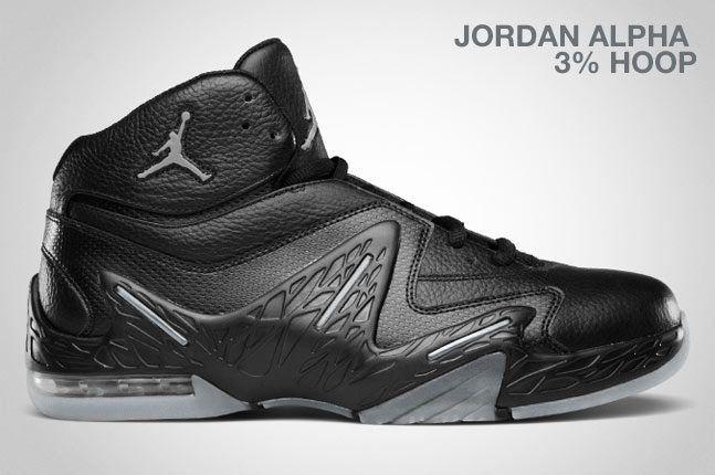 Air Jordan Alpha 3 Hoop Black 1