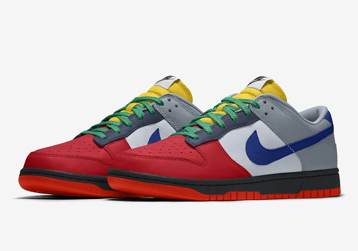 dunk low nike by you official