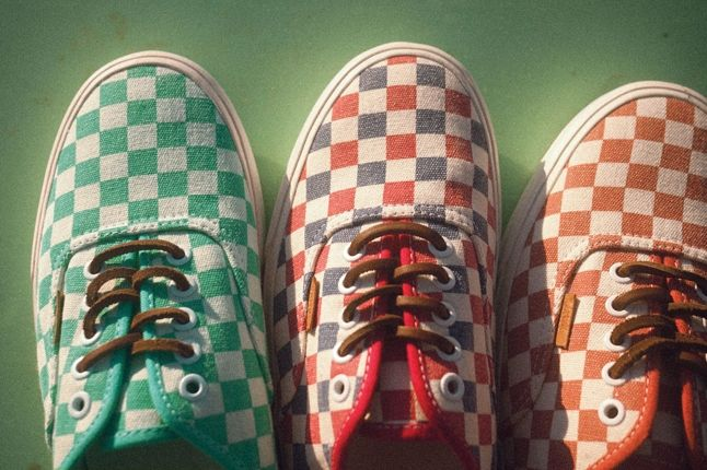 Vans California Collection Authentic Ca Checker Pack Fall 2013 1