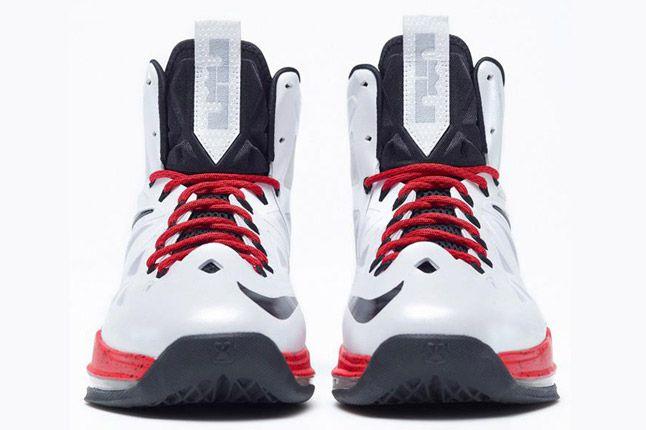 Nike Lebron X Id White Red Toes 1