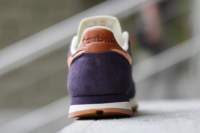 Reebok Classic Leather Suede Portrait Purple 1