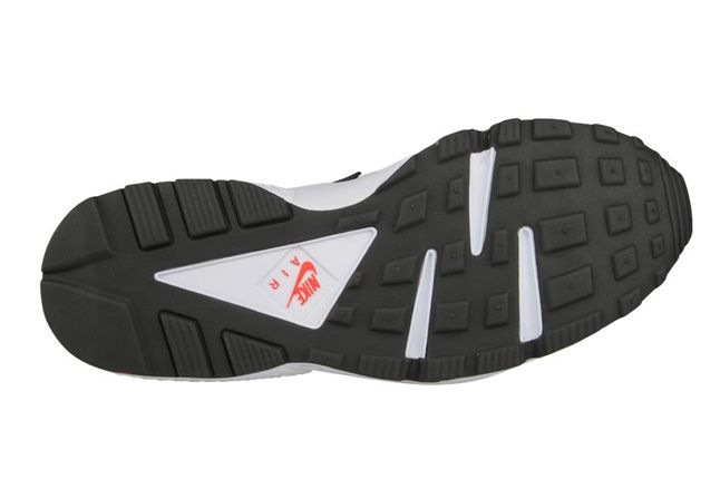 Nike Air Huarache Grey Red Sole 1