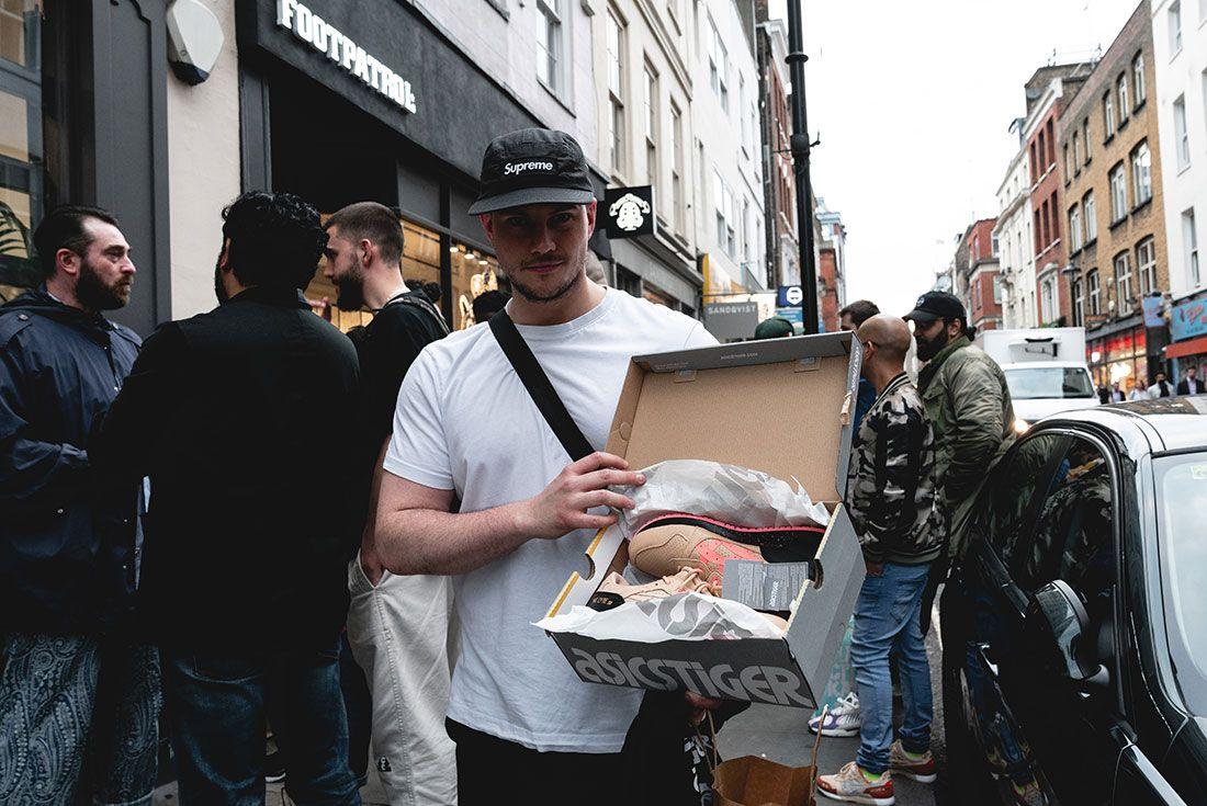 Footpatrol London Tiger Snake Launch People1