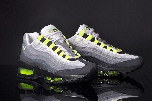 Nike Air Max 95 Premium Tape Qs Neon 1