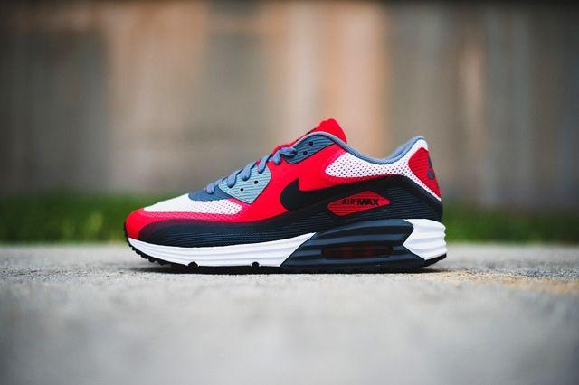 Nike Air Max 90 Lunar University Red 6