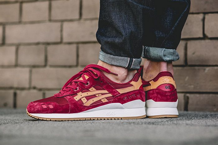 Asics Gel Respector Veg Tan On Feet Red 1