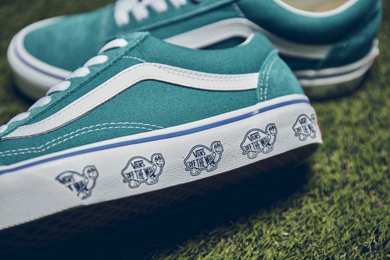 These Vans Old Skools are Turtle-y Exclusive to Billy's