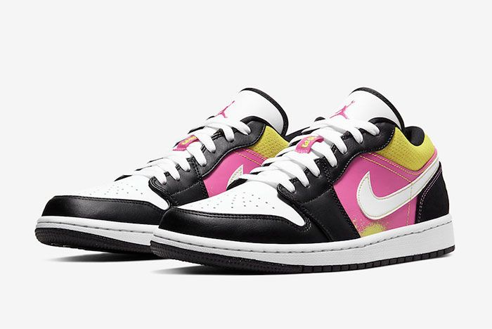 Air Jordan 1 Low Paint Splatter Toe